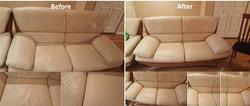 Leather Sofa Repairs and Redye