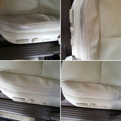 Lexus Seat Cleaning