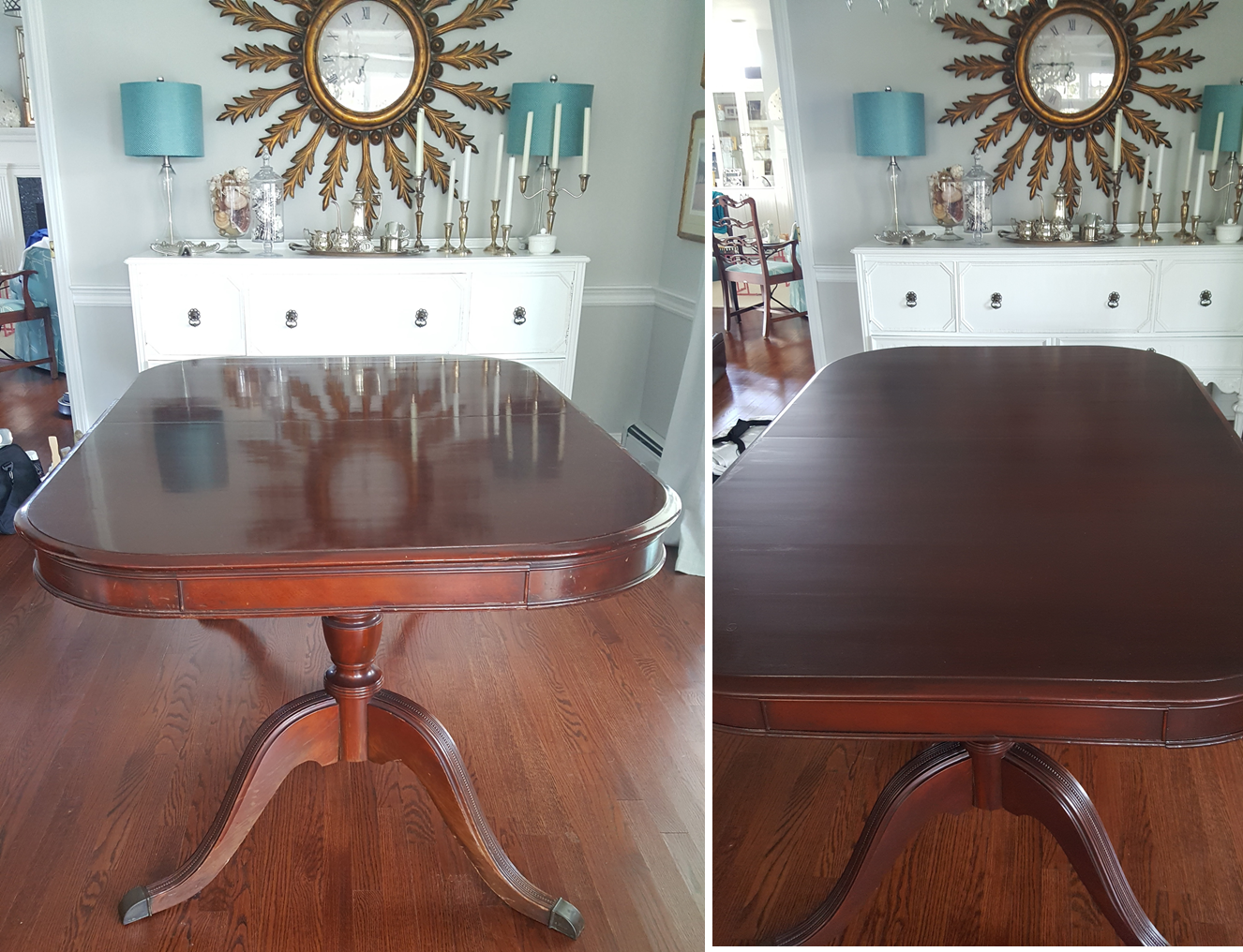 1920 Table Refinishing Restoration