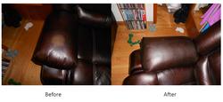 sofa arm leather