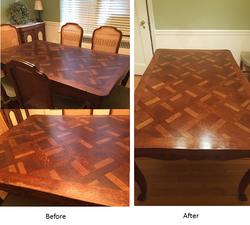 Table Original Finish Restoration  NY