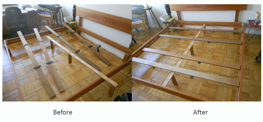 Bed frame repair