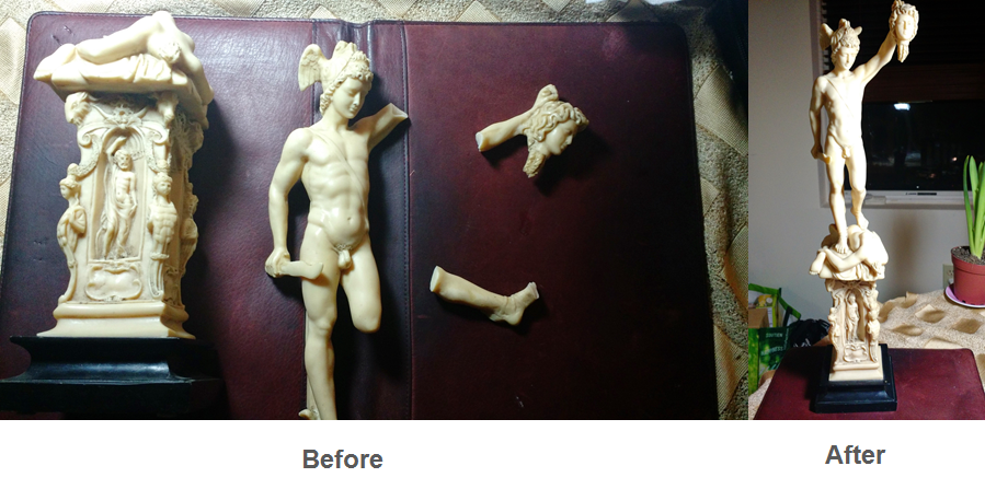 Percei Statue Restoration