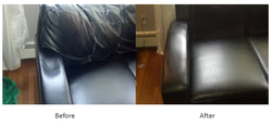 Leather sofa repairs