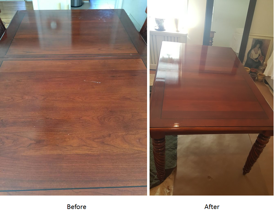 Table Original Finish Restoration  Englewood NJ