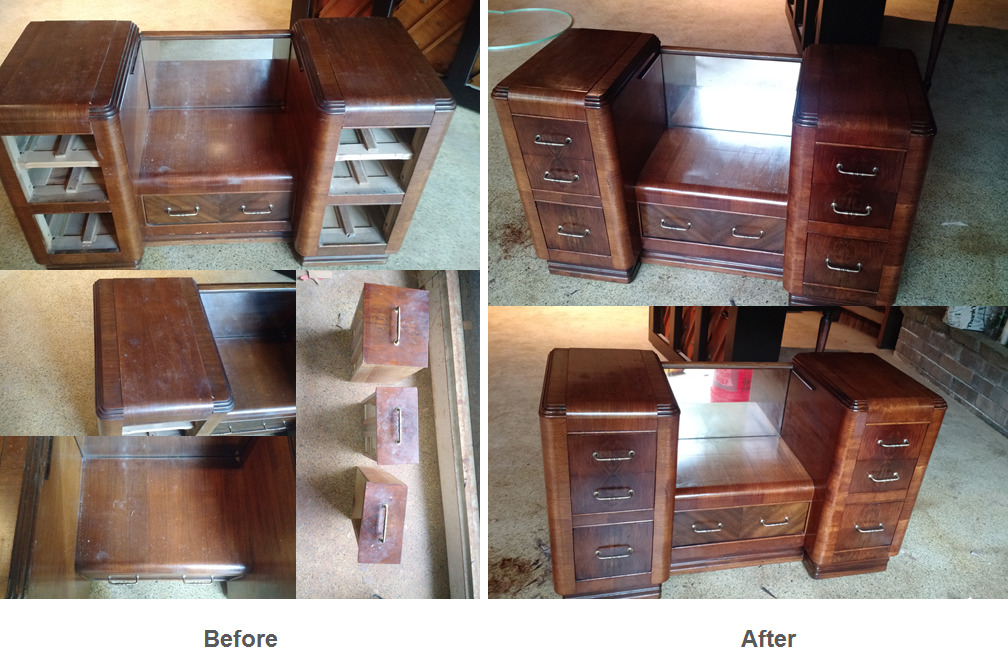 Dresser original finish restoration