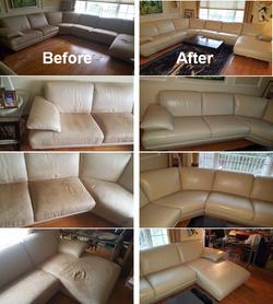 Leather Sofa Restoration