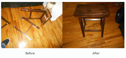 Broken chair repairs