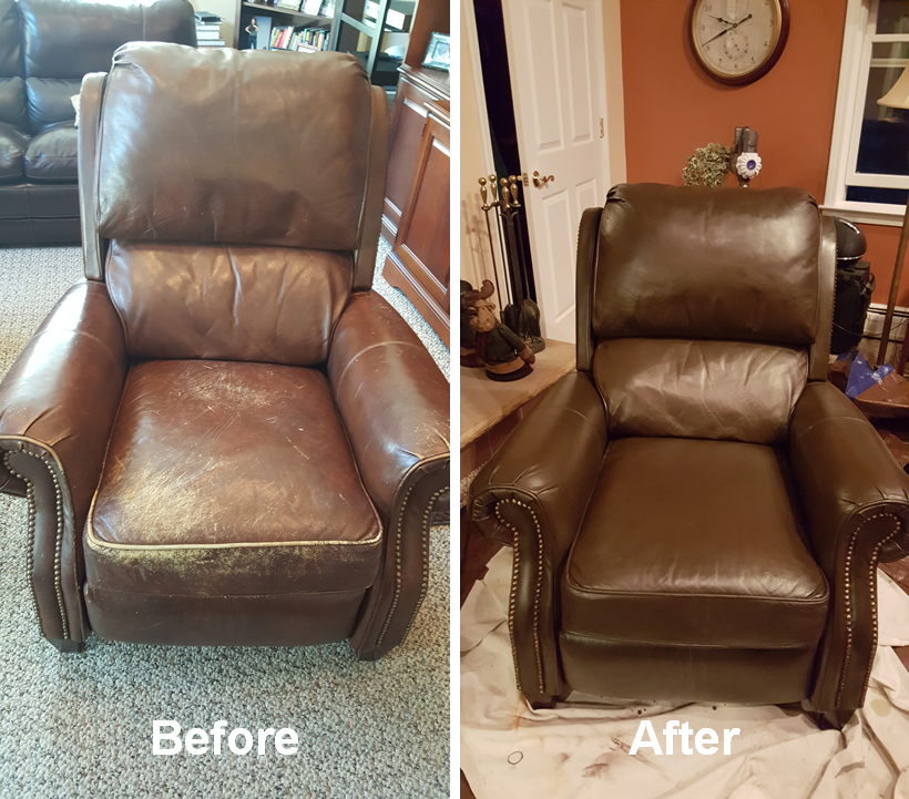 Leather Armchair Restoration