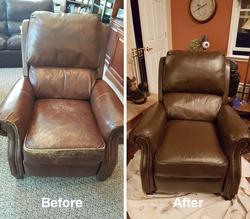 Leather Armchair Restoration