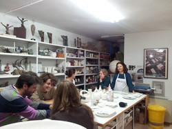 taller de ceramica Maria de Andres 2014