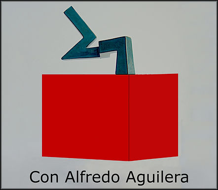 con Alfredo Aguilera