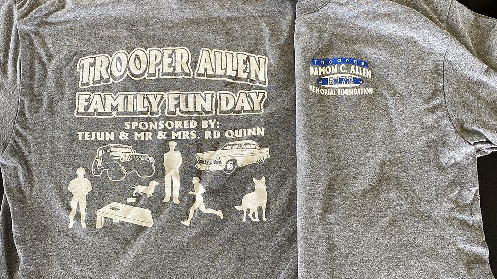 Trooper Allen Family Fun Day Event Shirt 2021