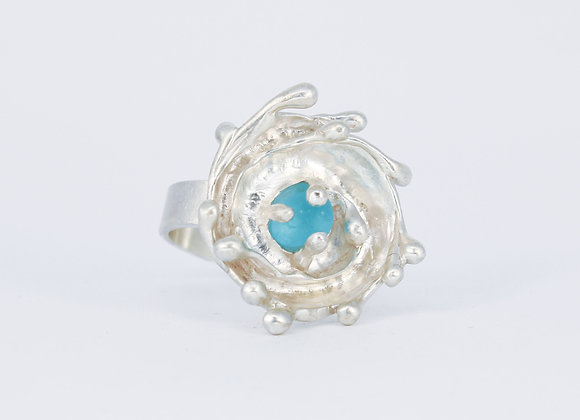 Eternal wave ring (size 10.25)