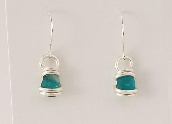 Wee Turquoise earrings