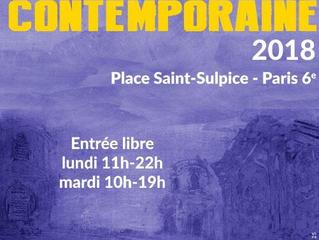 Retrouvez-moi  aux Journées de l'Estampe contemporaine place ST Sulpice les 11 et 12 juin 2018 s