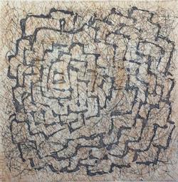 labyrinthe Bis. eau forte 2013