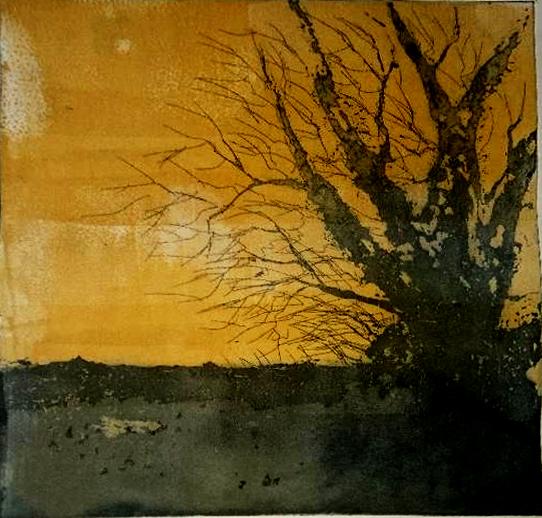 l'arbre-solitaire--Jaune