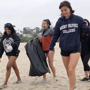 Santa Cruz Beach Clean Up