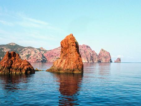 La réserve naturelle de Scàndula :    un des plus beaux joyaux de Corse