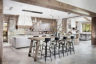 cuisine-moderne-rustique-residence-luxe_
