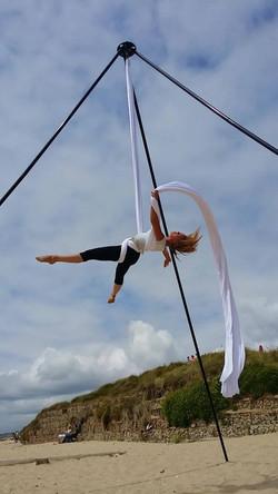 Flying High on the beach - Freedom