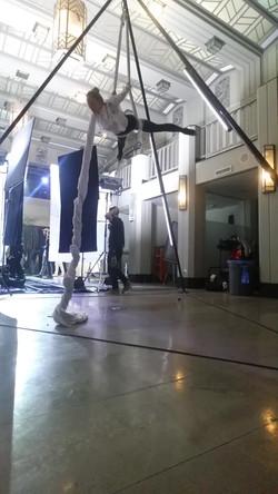 Behind the scenes at John Legend mus
