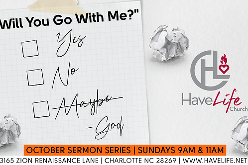 Digital Audio Download - Acts 9 - Part 1: Will You Go With Me?