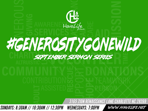 Generosity gone wild pt2