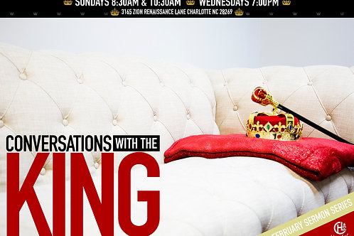 "Digital Audio Download: ""King Ray"" - Pastor Shomari White"