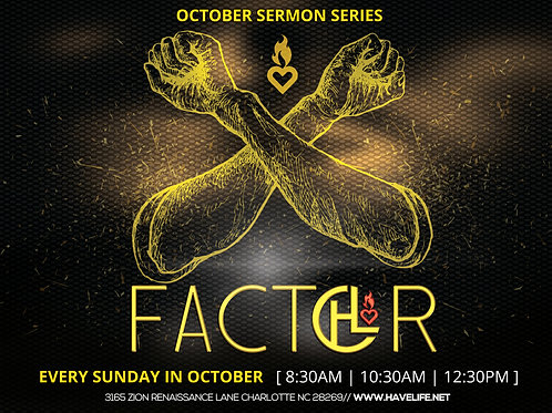 Prayer the EX-FACTOR-Pastor Sho