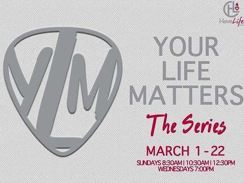 "Digital Audio Download ""Your Life Matters: The Mind"" - Pastor Shomari White"