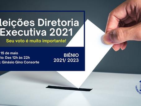 As inscrições para concorrer à Diretoria executiva estão abertas.