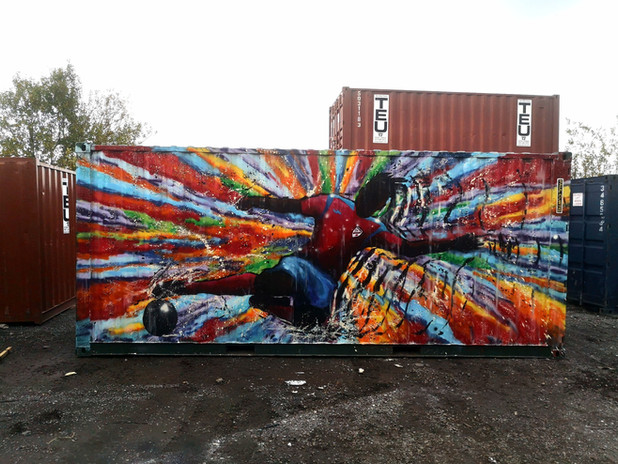 Leasowe Rakers mural- Paul Curtis