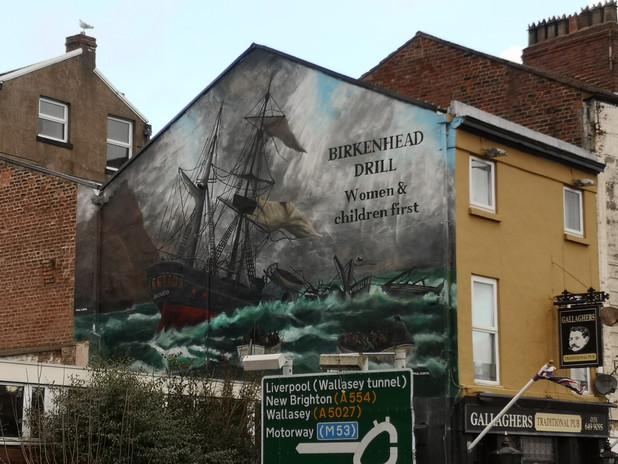 Paul Curtis, Birkenhead ship mural