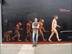 Evolution of man-Paul Curtis