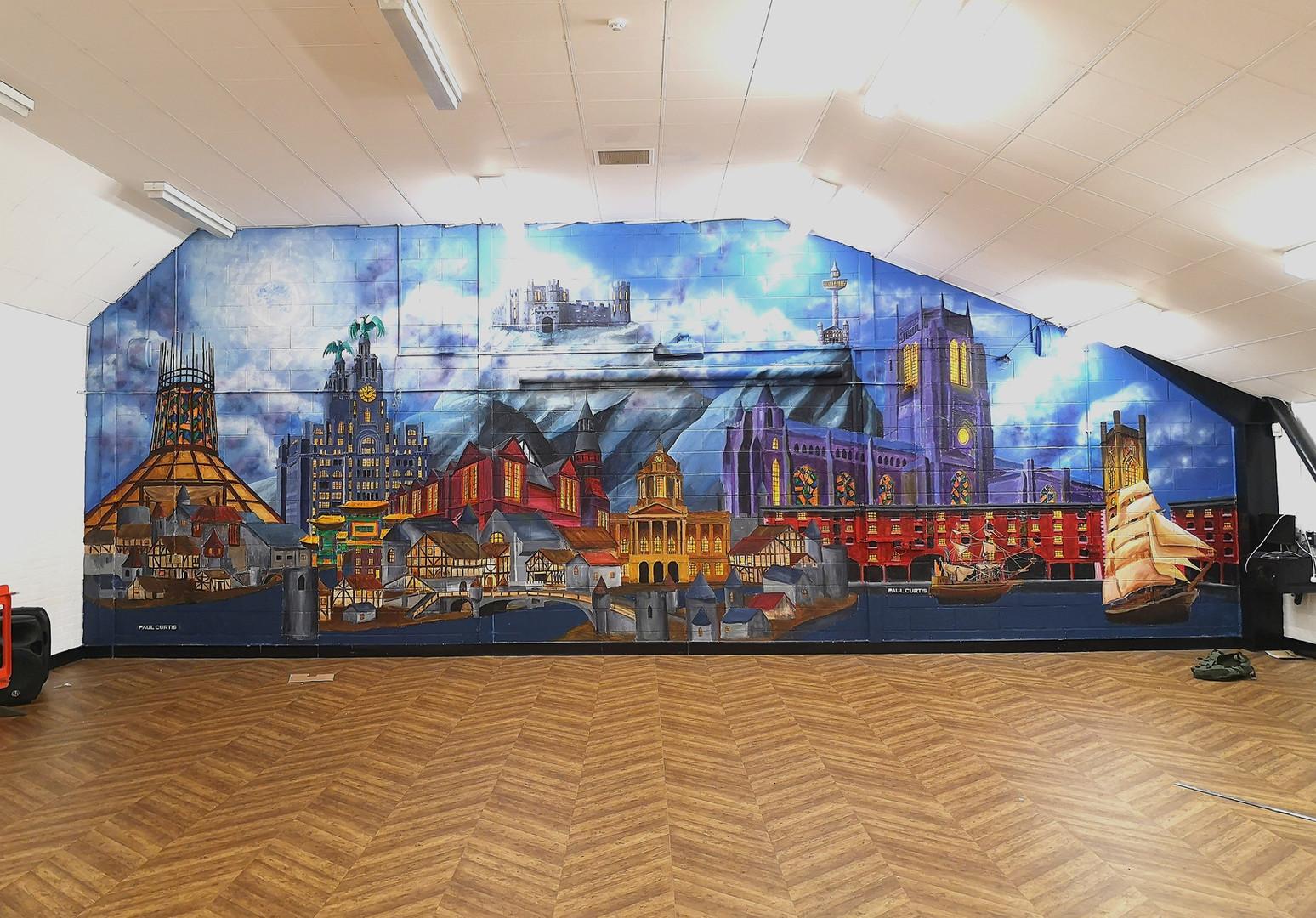 Liverpool Harry Potter mural, Paul Curti