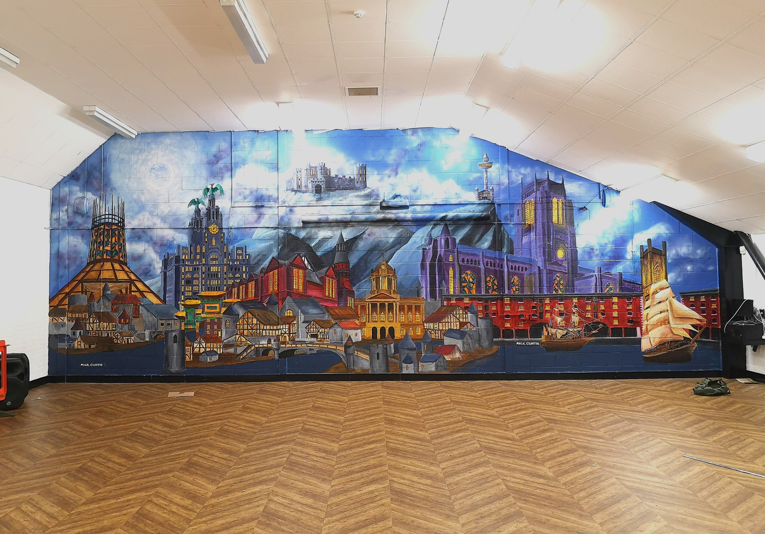 Liverpool Harry Potter mural, Paul Curti