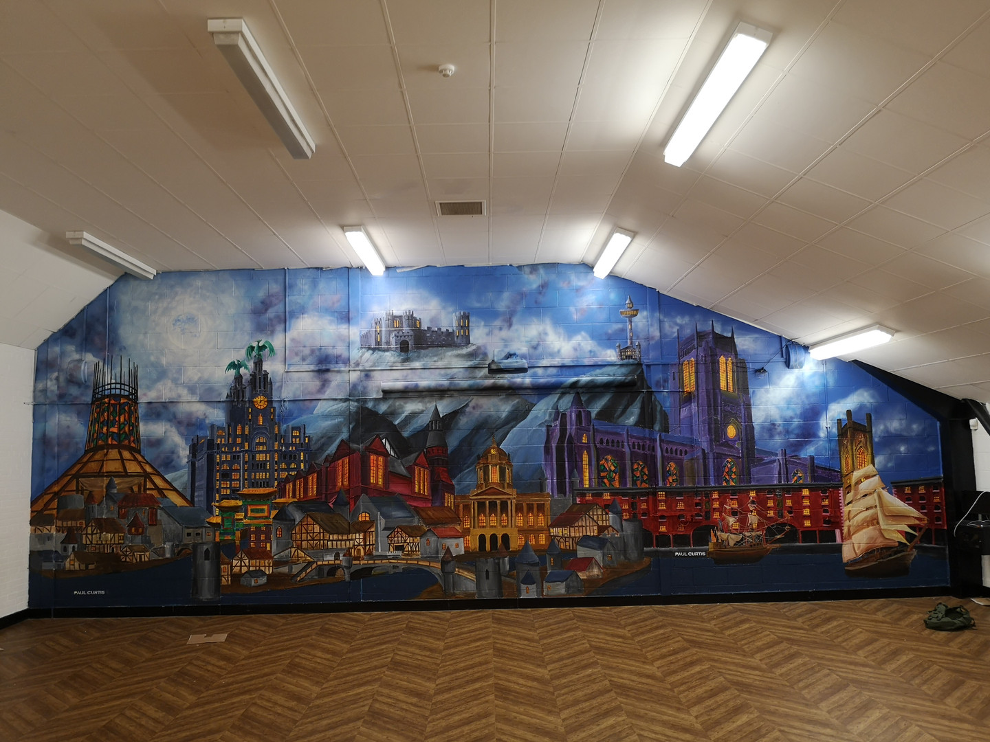 Harry Potter Liverpool mural paul curtis