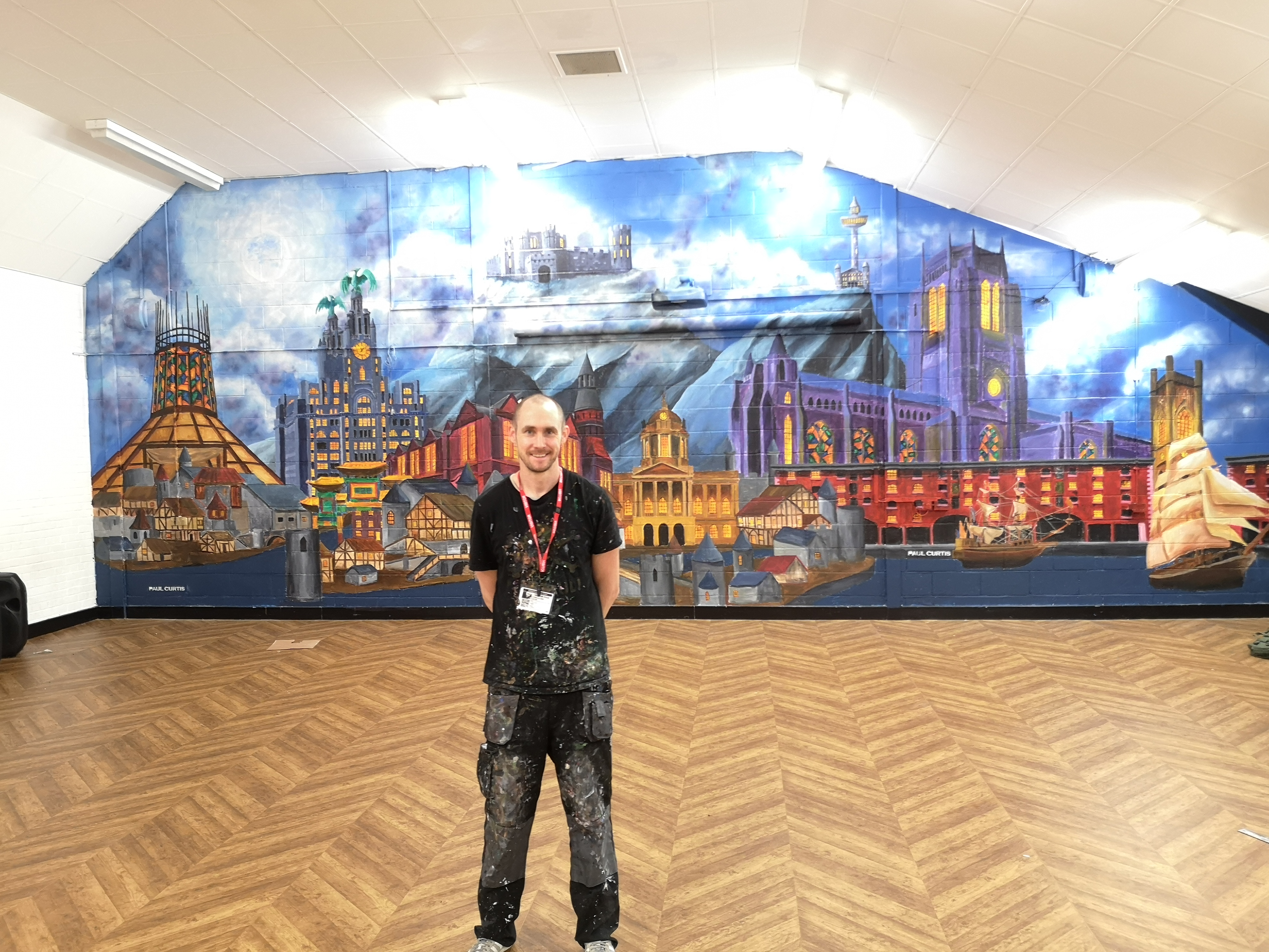 Paul Curtis, Anfield Harry Potter mural