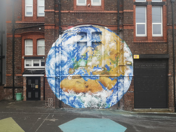 Earth from Anfield by Paul Curtis.