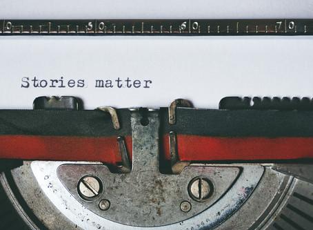 Stories Matter Week 4: - Joan Rudd