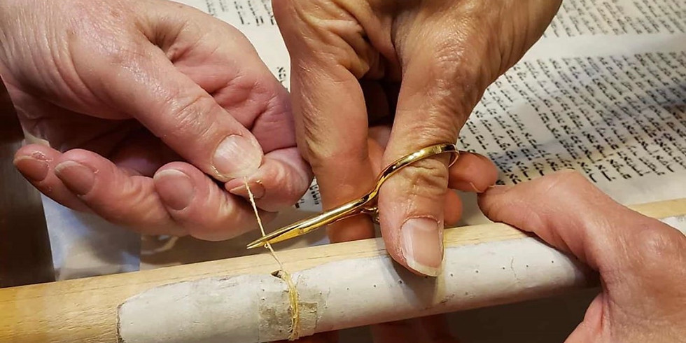 Bread and Torah: Scholars in Residence - Parchment Making
