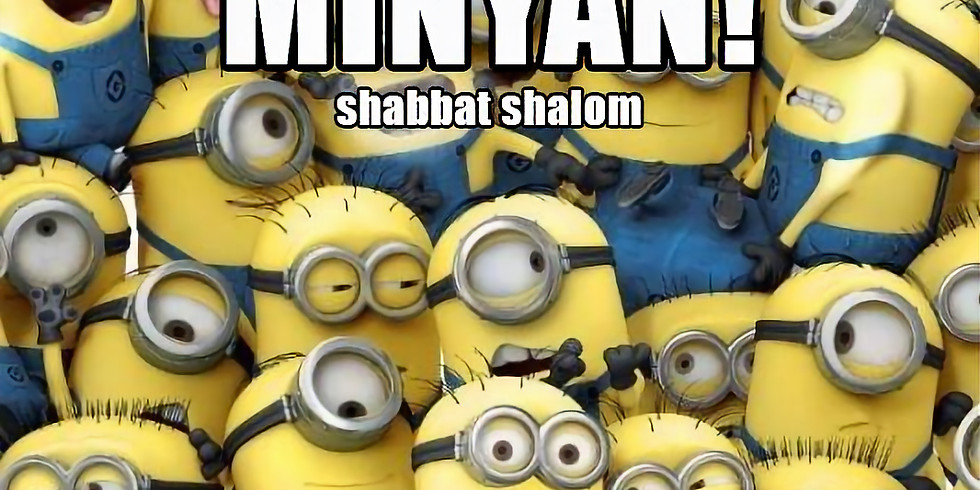 Zoomini Minyan for Kids and Families with Asher Hashash