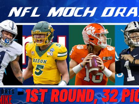 Mock Draft: 1st Round 2021 NFL Mock Draft   Trevor Lawrence, Zack Wilson & Trey Lance Landing Spots