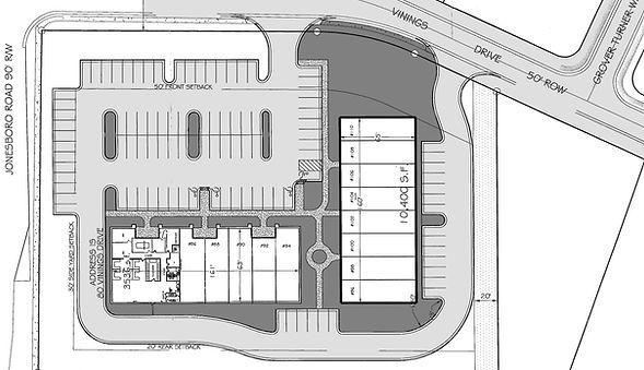 Site Plan - Availability - Towne Centre.