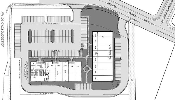 Site Plan - Availability - Towne Centre.