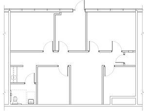 Floor Plan - St  245 - 1408 sf - Satelli
