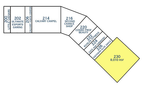 Building Floor Plan - Availability - Gal