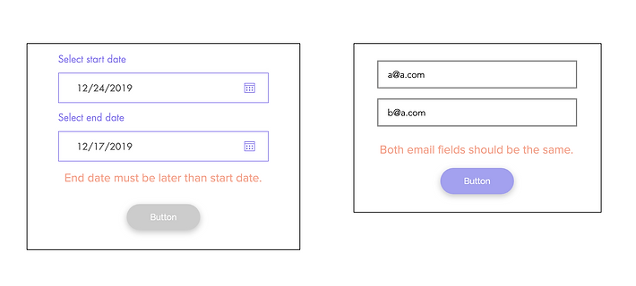 Validate Fields